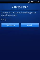Sony Ericsson Xperia X8 - MMS - automatisch instellen - Stap 5