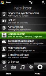 HTC T7373 Touch Pro II - Internet - Handmatig instellen - Stap 4
