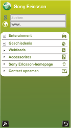 Sony Ericsson U10i Aino - Internet - Hoe te internetten - Stap 3
