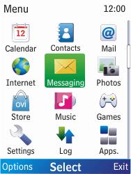 Nokia X2-00 - E-mail - Manual configuration - Step 3