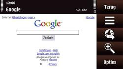 Nokia N97 Mini - Internet - Hoe te internetten - Stap 5