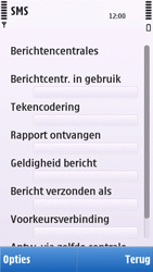 Nokia C5-03 - SMS - handmatig instellen - Stap 9