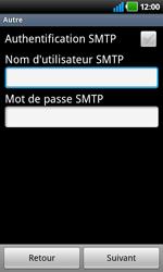 LG P920 Optimus 3D Speed - E-mail - Configuration manuelle - Étape 9