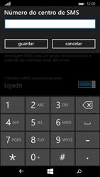 Microsoft Lumia 535 - SMS - Como configurar o centro de mensagens -  7