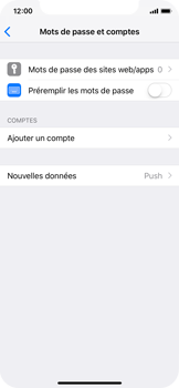 Apple iPhone X - iOS 12 - E-mail - Configuration manuelle - Étape 5