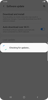 Samsung galaxy-s9-plus-android-pie - Device - Software update - Step 7