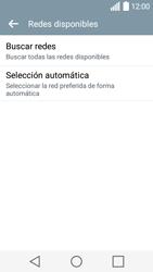 LG Leon - Red - Seleccionar una red - Paso 7