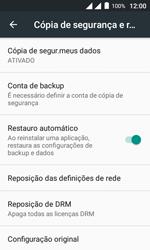 Alcatel Pixi 4 - Funções básicas - Como restaurar as configurações originais do seu aparelho - Etapa 7