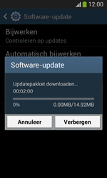 Samsung I8200N Galaxy S III Mini VE - Software updaten - Update installeren - Stap 9
