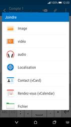 HTC Desire 626 - E-mails - Envoyer un e-mail - Étape 11