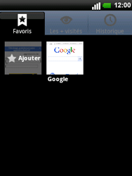 LG C660 Optimus Pro - Internet - navigation sur Internet - Étape 7