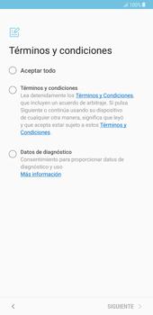 Samsung Galaxy Note 8 - Primeros pasos - Activar el equipo - Paso 6