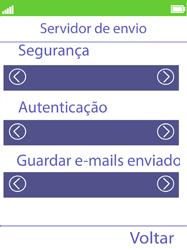 NOS Hakan - Email - Configurar a conta de Email -  28