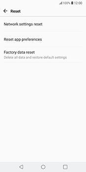 LG V30 - Device - Factory reset - Step 8