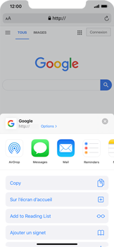 Apple iPhone XS Max - iOS 13 - Internet - navigation sur Internet - Étape 5