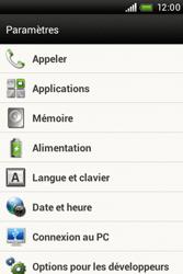 HTC A320e Desire C - Messagerie vocale - configuration manuelle - Étape 5