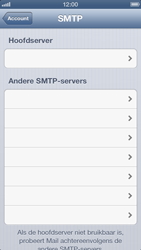 Apple iPhone 5 - E-mail - Handmatig instellen - Stap 17