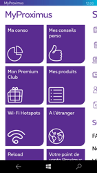 Microsoft Lumia 550 - Applications - MyProximus - Étape 13