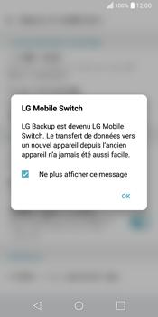 LG Q6 - Device maintenance - Back up - Étape 7