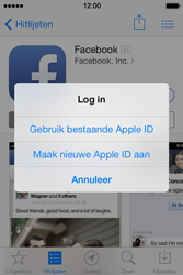 Apple iPhone 4 S - iOS 7 - apps - account instellen - stap 24