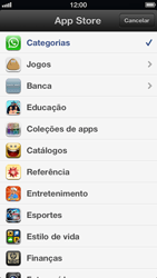 Apple iPhone iOS 6 - Aplicativos - Como baixar aplicativos - Etapa 4
