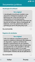 LG K10 - Primeiros passos - Como ativar seu aparelho - Etapa 15