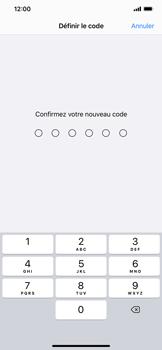 Apple iPhone XS Max - iOS 13 - Sécurité - activéz le code PIN de l'appareil - Étape 7