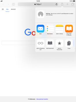 Apple Apple iPad Pro 9.7 - iOS 11 - Internet - Internet browsing - Step 5