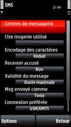 Nokia 5800 Xpress Music - SMS - configuration manuelle - Étape 6