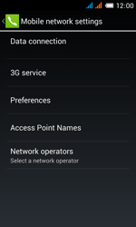 Alcatel OT-4033X Pop C3 - Internet - Enable or disable - Step 6