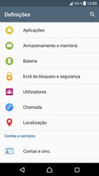 Sony Xperia XZ - Android Nougat - Segurança - Como ativar o código PIN do cartão de telemóvel -  4