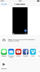 Apple iPhone 6 Plus iOS 8 - Photos, vidéos, musique - Créer une vidéo - Étape 9
