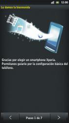 Sony Xperia U - Primeros pasos - Activar el equipo - Paso 4