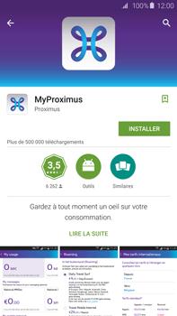 Samsung Galaxy S6 edge+ - Applications - MyProximus - Étape 8