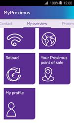 Samsung Galaxy J1 - Applications - MyProximus - Step 19
