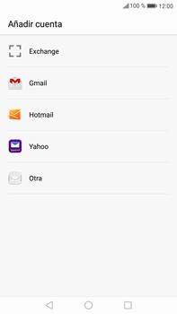 Huawei Mate 9 - E-mail - Configurar correo electrónico - Paso 4