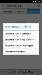 Huawei G620s - Chamadas - Como bloquear chamadas de um número -  7