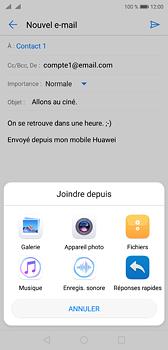 Huawei P20 - Dual SIM - E-mail - envoyer un e-mail - Étape 9