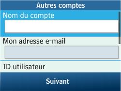 Samsung C3500 Chat 350 - E-mail - Configuration manuelle - Étape 12