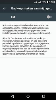 Acer Liquid Zest 4G Plus - Device maintenance - Back up - Stap 8