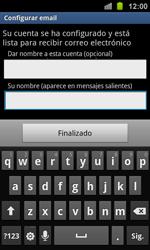 Samsung I8160 Galaxy Ace II - E-mail - Configurar correo electrónico - Paso 17
