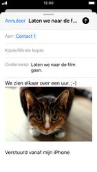 Apple iPhone SE - iOS 13 - E-mail - Bericht met attachment versturen - Stap 15