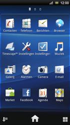 Sony Ericsson Xperia Ray - Wifi - handmatig instellen - Stap 2