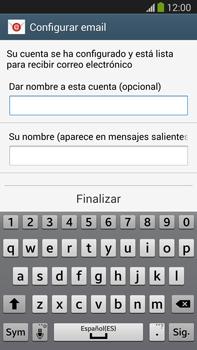 Samsung Galaxy Note 3 - E-mail - Configurar correo electrónico - Paso 19