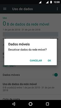 Motorola Moto Z2 Play - Rede móvel - Como ativar e desativar uma rede de dados - Etapa 6