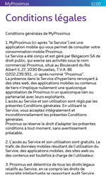 Microsoft Lumia 435 - Applications - MyProximus - Étape 11