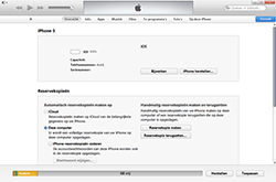 Apple iPhone 4S met iOS 6 (Model A1387) - Software - Back-up maken of terugplaatsen - Stap 5