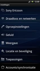 Sony Ericsson Xperia Neo V - MMS - handmatig instellen - Stap 4