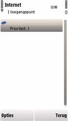 Nokia 5230 - Internet - handmatig instellen - Stap 11