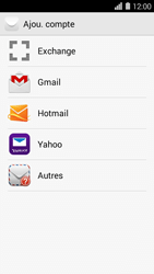 Huawei Ascend Y550 - E-mail - Configurer l